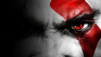 Video games eyes god of war wallpaper