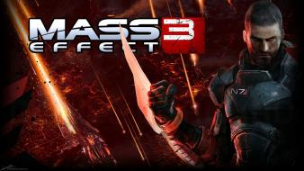 Video games mass effect bioware 3 commander shepard wallpaper