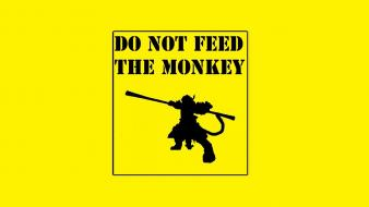 Yellow funny league of legends wukong monkey king Wallpaper