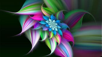 3d flower background wallpaper