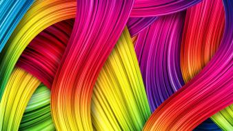 Abstract colorful lines wallpaper