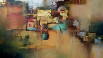 Abstract paintings wallpaper