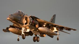 Aircraft military airplanes harrier av-8b art wallpaper