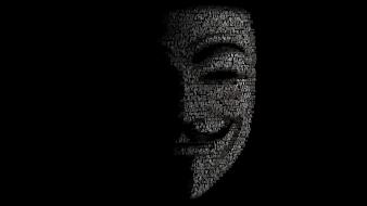 Anonymous mask wallpaper