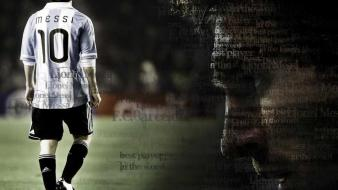 Argentina lionel messi national football team wallpaper