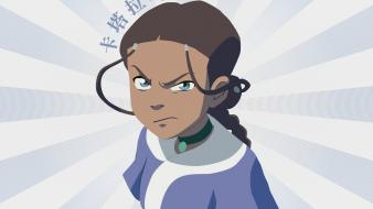 Avatar: the last airbender katara tv series wallpaper