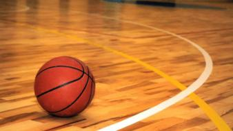 Basketball court wallpaper