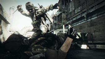 Battlefield 3 sniper recon russian black borders wallpaper