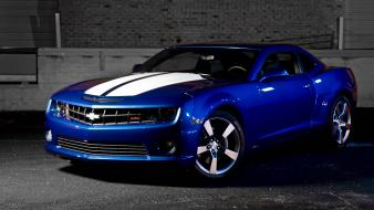 Blue chevrolet camaro wallpaper