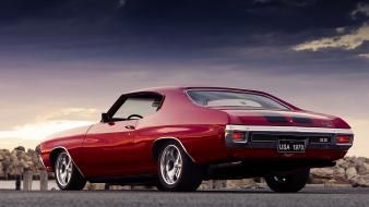 Cars chevrolet chevelle ss muscle car Wallpaper