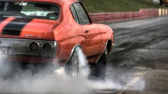 Cars chevrolet muscle car Wallpaper