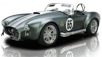 Cars cobra vehicles reflections white background wallpaper