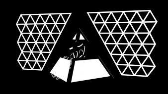 Daft punk pyramids wallpaper