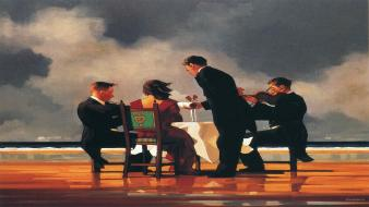 Dead admiral jack vettriano artwork contemporary paintings wallpaper
