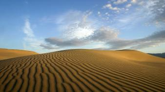 Deserts landscapes nature sand dunes wallpaper