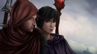 Dragon age artwork 2 fan art game wallpaper