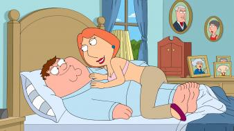 Family guy peter griffin lois Wallpaper