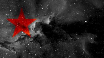 Freedom revolution politics red star anarchism anarcho-communism anarcho-syndicalism wallpaper