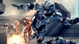 Halo 4 wargames jump 343 industries Wallpaper