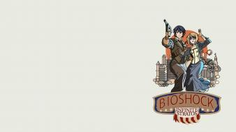 Infinite stratos crossovers bioshock simple background wallpaper