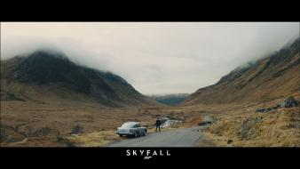 James bond skyfall aston martin 007 wallpaper