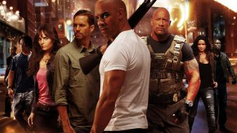 Ludacris dwayne johnson fast and furious 6 Wallpaper
