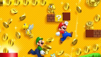 Luigi ipad 3 lakitu new bros 2 Wallpaper