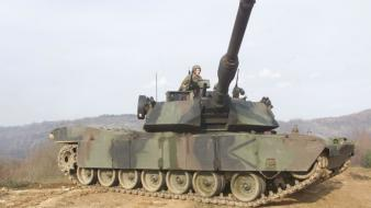 M1a1 abrams tank army power steel tanks wallpaper