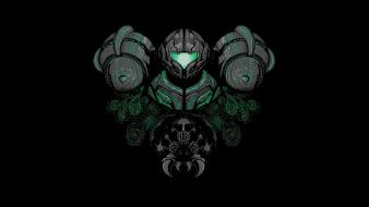 Metroid stylized wallpaper