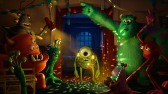 Mike wazowski monster inc. wallpaper