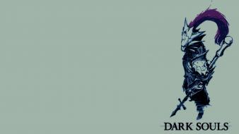 Minimalistic fantasy art artwork dark souls ornstein wallpaper