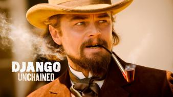 Movies actors leonardo dicaprio django unchained calvin candie wallpaper