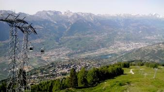 Nendaz sion switzerland wallpaper