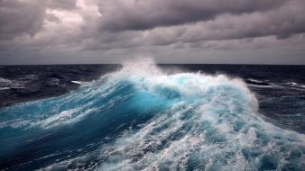 Ocean waves sea wallpaper