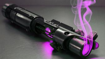 Pink objects lasers wallpaper