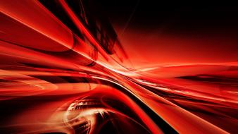 Red lines abstract wallpaper