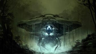 Sentinel concept art science fiction artwork 4 wallpaper