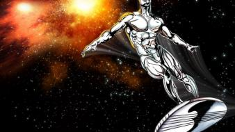 Silver surfer comic books Wallpaper