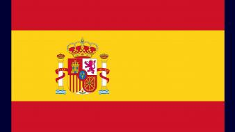 Spain flags nations wallpaper