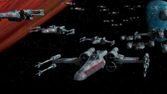 Star wars outer space movies x-wing y-wing wallpaper