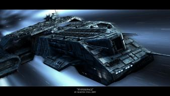 Stargate daedalus prometheus hyperspace wallpaper