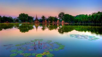 Thailand historic park wallpaper