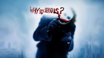 The joker batman dark knight Wallpaper