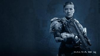 Video games halo 4 343 industries sarah palmer Wallpaper