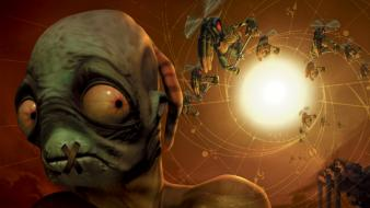 Video games oddworld wallpaper