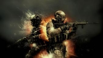 Weapons call of duty: modern warfare 3 Wallpaper