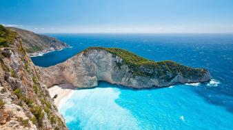 Zakynthos island beach wallpaper