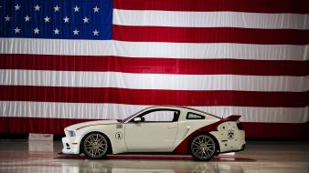 2014 ford mustang gt thunderbirds wallpaper