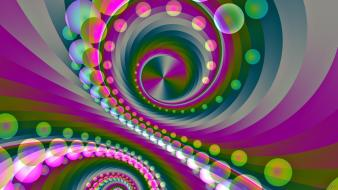 Abstract backgrounds colors digital art multicolor Wallpaper