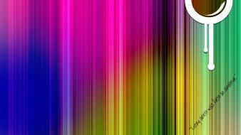Abstract colors fun happy quotes wallpaper